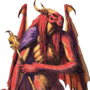 Red Abishai - D&D Arena Monster Favorite.