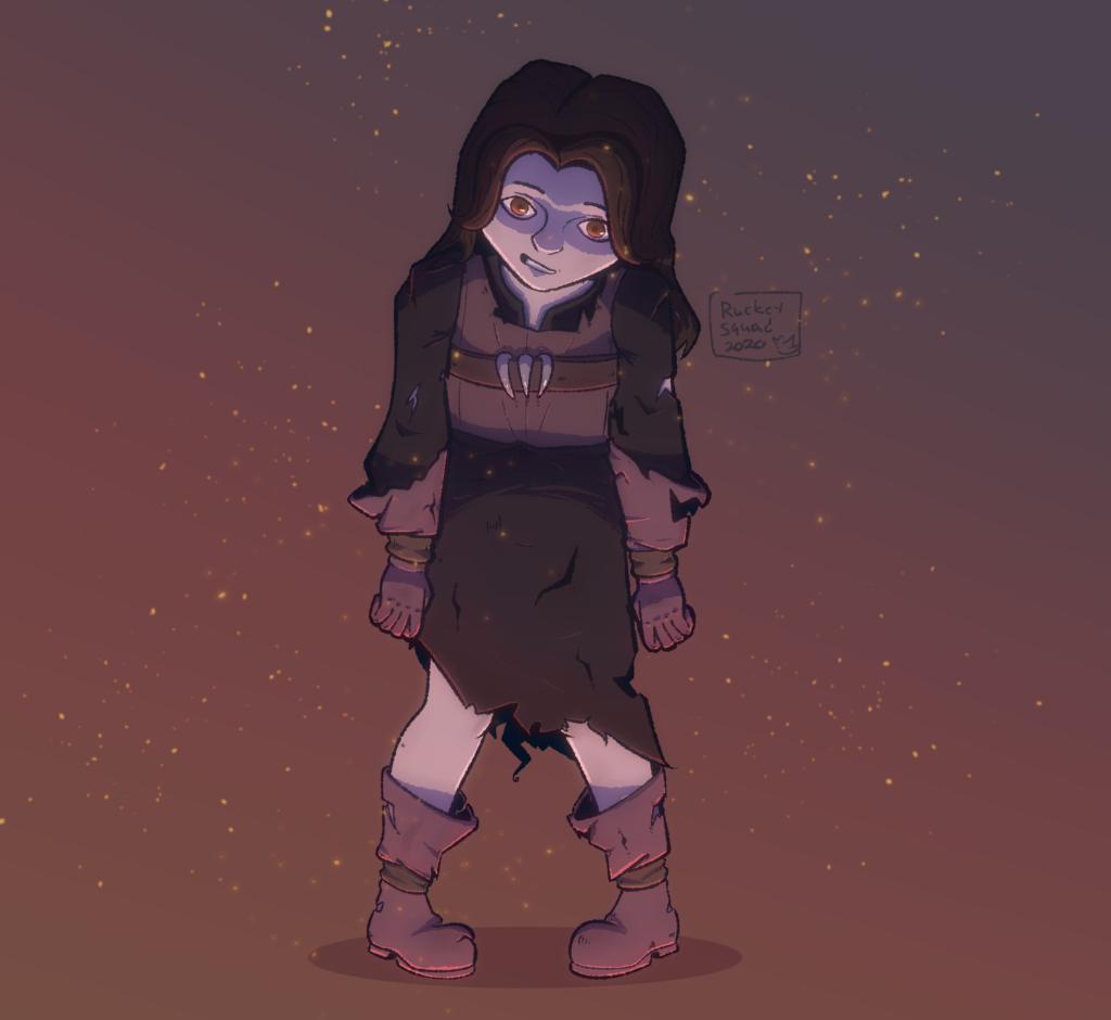 Sad Little Girl Kohoutek